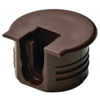 Корпус стяжки RAFIX TAB пластиковый, цвет коричневый для детали 16мм