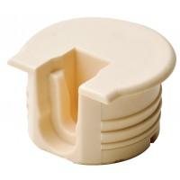 Корпус стяжки RAFIX TAB пластиковый, цвет бежевый для детали 16мм