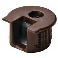Корпус стяжки RAFIX SE пластиковый коричневый D20 mm для детали 16 мм