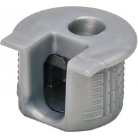 Корпус стяжки RAFIX SE пластиковый серый (алюминий) D20 mm для детали 19 мм