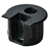 Корпус стяжки RAFIX SE пластиковый чёрный D20 mm для детали 19 мм