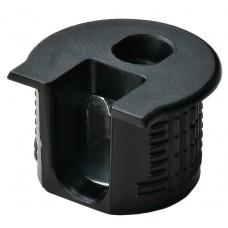 Корпус стяжки RAFIX SE пластиковый чёрный D20 mm для детали 16 мм