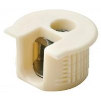 Корпус стяжки RAFIX SE пластиковый бежевый D20 mm для детали 16 мм