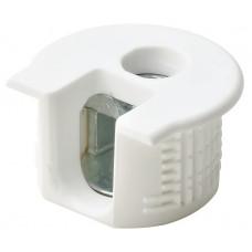 Корпус стяжки RAFIX SE пластиковый белый D20 mm для детали 16 мм