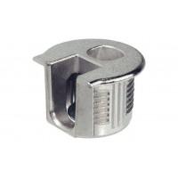 Корпус стяжки RAFIX SE цинковый никелированный D20 mm для детали 16 мм