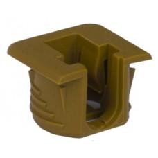 Полкодержатель Flipper коричневый для полок из ДСП