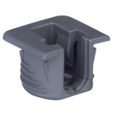 Полкодержатель Flipper серый для полок из ДСП