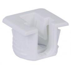 Полкодержатель Flipper белый для полок из ДСП