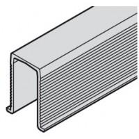 Направляющая шина SLIDO CLASSIC нижняя пластик черный 1.0 м
