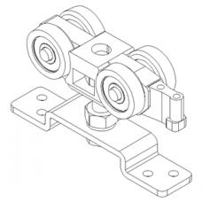 Комплект фурнитури Slido Classic 50-P без демпфера