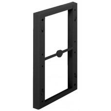 Рамная прокладка для гардеробного лифта 20 мм, пластик черный