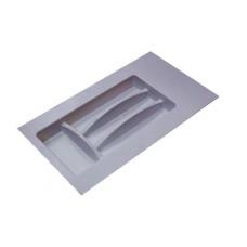Лоток для столовых приборов серый, в секцию 300 мм Hafele