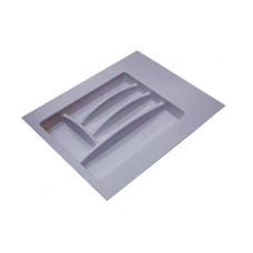 Лоток для столовых приборов серый, в секцию 400-450 мм Hafele