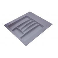 Лоток для столовых приборов серый, в секцию 500-550 мм Hafele