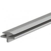 Соединяющий профиль для лотков пластик серый, Hafele