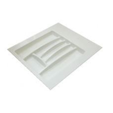 Лоток для столовых приборов белый, в секцию 500-550 мм Hafele