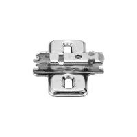 Планка опорная BLUM Clip H=0 мм, сталь никелированная под шуруп