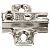 Монтажная планка METALLA А 0 мм сталь никелированная под шуруп