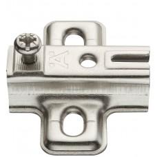 Монтажная планка METALLA S крестовая 2 мм сталь никелированная под шуруп