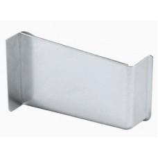 Заглушка к подвесу левая сталь никелированная
