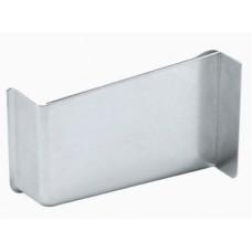 Заглушка к подвесу правая сталь никелированная