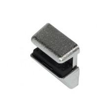Полкодержатель с фиксатором для стекла до 4 / 6 / 8 мм HAFELE