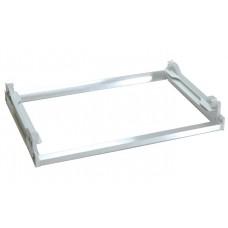 Рамка алюминиевая к сушке для посуды 600мм белая