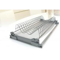 Решётка для посуды нержавеющая сталь, в секцию 600мм, комплект