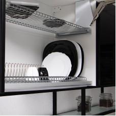 Сушка с рамкой для посуды 800 мм Vibo, комплект
