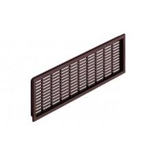 Вентиляционная решетка 175x41 мм коричневая